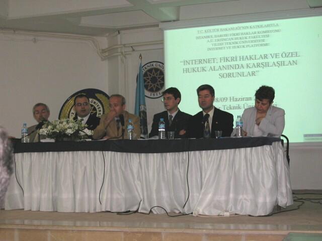 -Soldan saga-Cevat Ozel, BSA Temsilcisi, Haluk Inanici, Erdem Turkekul, Tekin Memis, Gunay Gormez